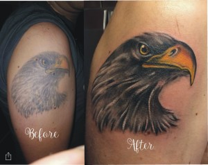 Cover up..